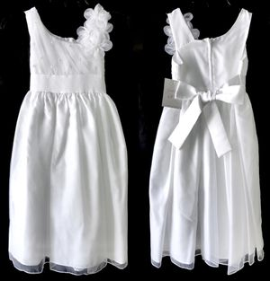 White Dress Girls Size 7 for Sale in Fontana, CA