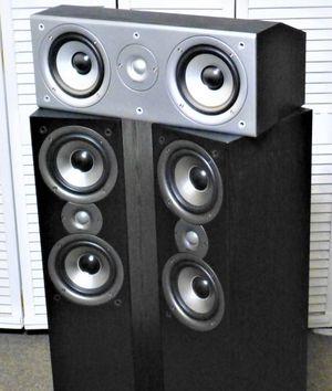 Polk Monitor Towers & Polk CS1 Center Speaker for Sale in Aurora, CO