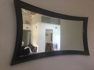 Like new El Dorado espresso wall mirror for Sale in Miramar, FL