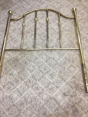 Twin Brass Headboard for Sale in Waynesburg, PA