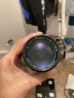 Minolta 135mm 2.8 Manual Prime Lens Vintage for Sale in San Antonio, TX