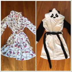 Girls Robes Panda And Hello Kitty for Sale in Portland,  OR