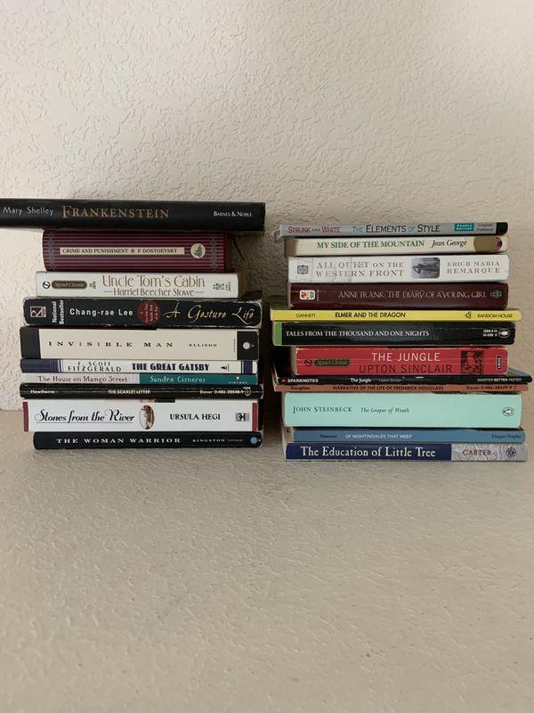 Make an offer - School Books high school middle school