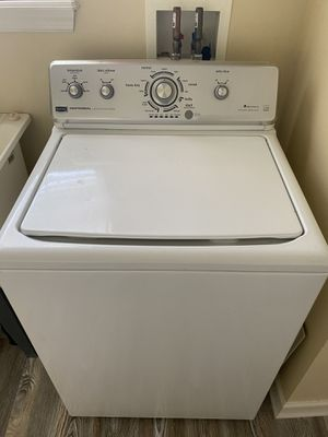 (SALE PENDING) Maytag Centennial Washer and Dryer...HE washer for Sale in North Ridgeville, OH