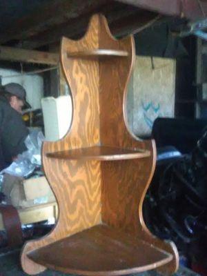 Wooden corner shelf for Sale in Battle Ground, WA
