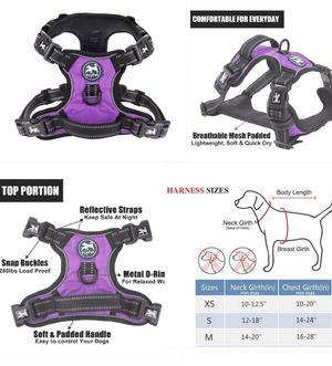 New dog collar body harness size medium for Sale in Long Beach, CA
