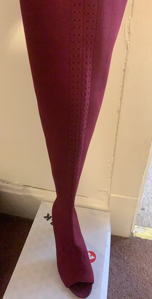 Thigh High Boots 8 and Purse for Sale in Chicago, IL
