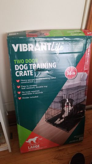 Large dog crate for Sale in Rocky River, OH