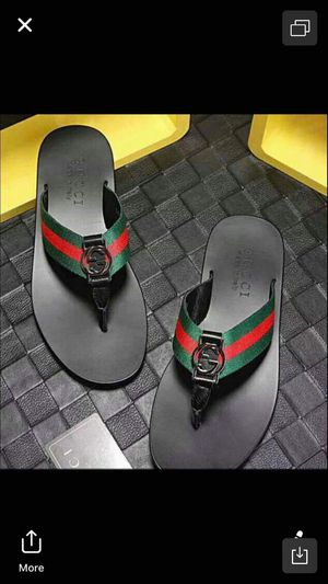 Brand new gucci men sandal size 6 7 8 9 10 11 for Sale in Hollywood, FL