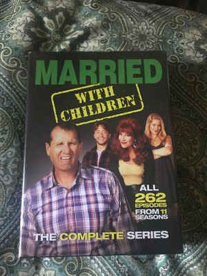 Married with children complete series for Sale in Kerman, CA
