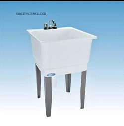E.L. MUSTEE 14 23x25 White Single Laundry Tub for Sale in Fort Worth,  TX