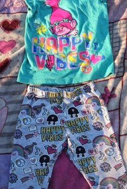 Trolls Toddler Girl Set Size 3t for Sale in Houston,  TX