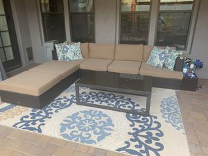 7 piece outdoor patio furniture set for Sale in Scottsdale, AZ