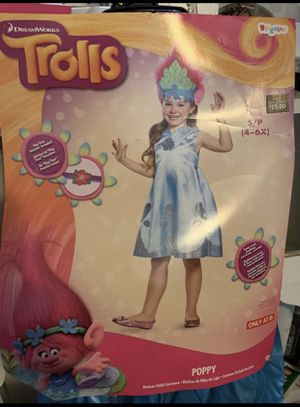 Trolls Poppy costume for Sale in Fresno, CA