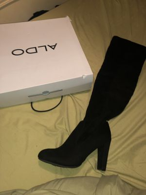 Black Aldo High Knee Boots for Sale in TEMPLE TERR, FL