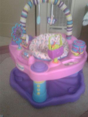 Baby Girl Exersaucer bouncer for Sale in Abilene, TX