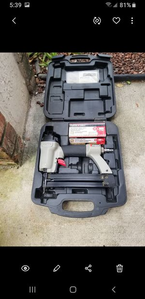 Porter cable brad nailer works perfect 18g for Sale in Coral Springs, FL