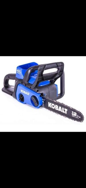 40v Kobalt Battery Operated Chainsaw for Sale in Baxley, GA