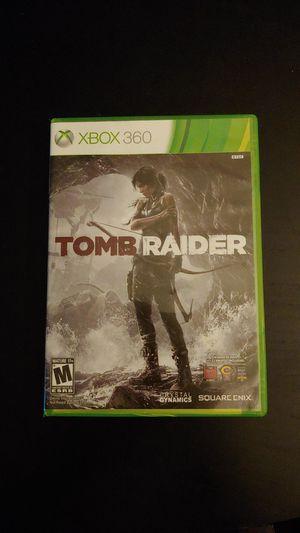 XBOX 360 Tomb Raider Complete Working for Sale in Tacoma, WA