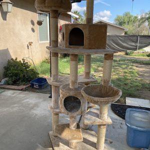 Extra Tall Cat Tree Condo for Sale in Eastvale, CA