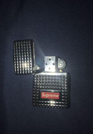 Supreme Zippo lighter (OR TRADE) for Sale in Trenton, NJ