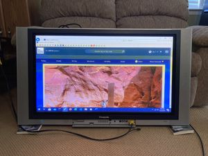 """Panasonic 42"""" Plasma screen TV - controller included for Sale in North Potomac, MD"""
