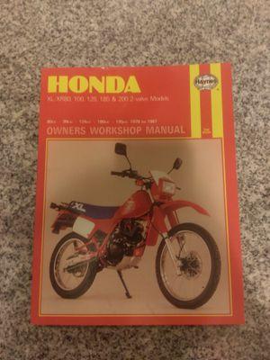 Honda motorcycle manuals for Sale in Salt Lake City, UT