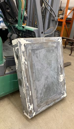 Old Galvanized metal wall cabinet. for Sale in Whittier, CA