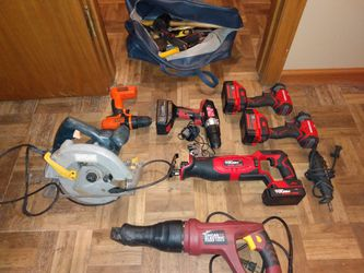 All Tools For Sales Craftsmans drill are Brand New Chicago Electric Power Tools Ryobi Hyper Tough Tool Brand New And Dremele for Sale in Wichita,  KS