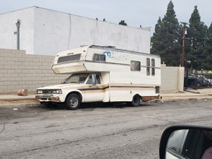 Datsun Voyager nissan rv camper for Sale in West Los Angeles, CA