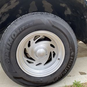"15"" Wheels With Good Tires 5X5 Lug Pattern for Sale in Fuquay-Varina, NC"