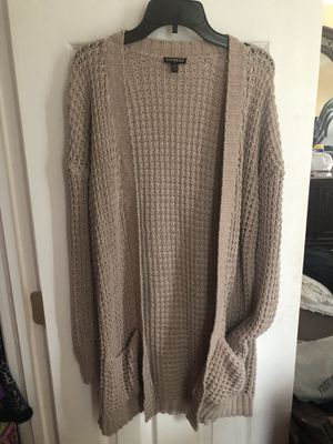 Express Taupe/ dusty rose cardigan for Sale in Alexandria, VA