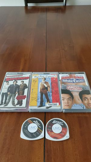 PSP five UMD Movies for Sale in Fort Leonard Wood, MO