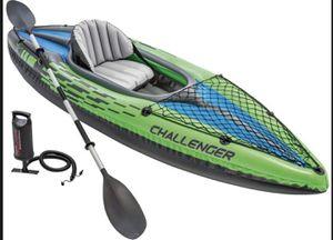 Intex Challenger Kayak Series K1 for Sale in Bethesda, MD