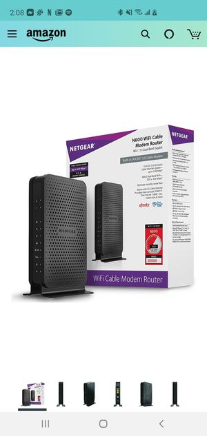 Wifi cable modem router for Sale in Chicago, IL
