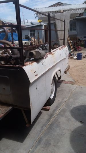 Bed trailer aut of 64 dodge pick good working condition for Sale in Lancaster, CA
