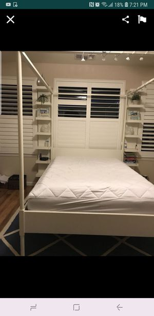 IKEA Edland Canopy Bed for Sale in Lathrop, CA
