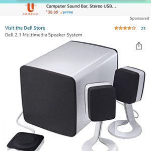 Dell multimedia speaker system for Sale in Nipomo, CA