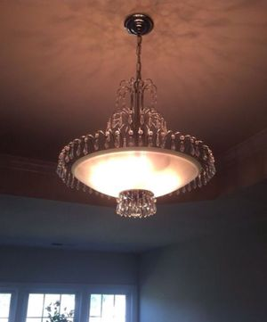 Chandelier with Crystals for Sale in Oxon Hill, MD