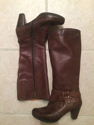 Pikolinos Size 6 brown leather women's boots for Sale in Houston, TX