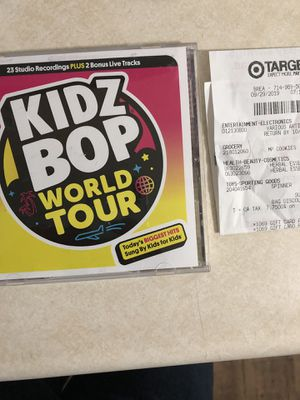 Kidz bop CD for Sale in Brea, CA