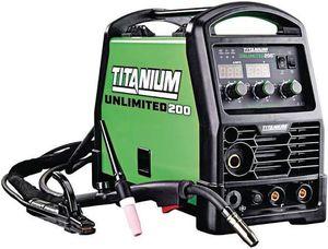 Titanium Unlimited 200 Professional Multipurpose Welder with 120/240 Volt Imput for Sale in Citrus Heights, CA