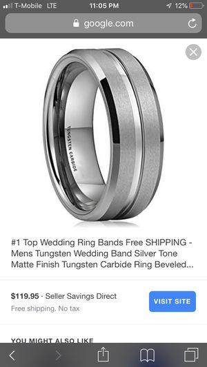 Tungsten wedding ring for Sale in Durham, NC