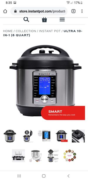 Instant pot ultra 6qt for Sale in Portland, OR