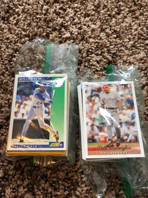 Baseball Cards - Bags of 100 - $1.50 for Sale in Snohomish, WA