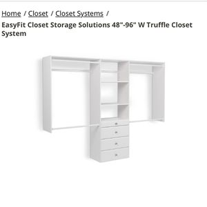 Closet System for Sale in Seattle, WA