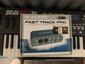 M-Audio Fast Track Pro Audi/MIDI Interface for Sale in Seattle, WA