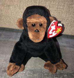 Gently Used TY Beanie Baby - CONGO the Gorilla Plush for Sale in Pinellas Park,  FL
