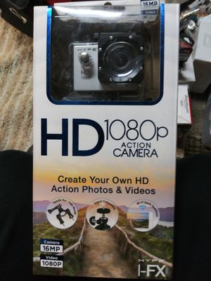HYPE I-FX 1080P, 16MP Wi-Fi Action Digital Camera wate for Sale in Fontana, CA