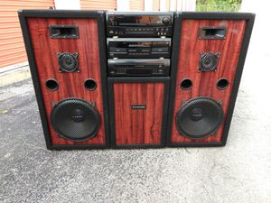 Pro Studio Techwood Home Stereo System for Sale in Austin, TX